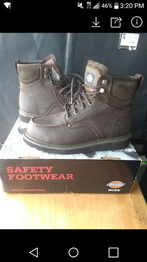 steel boots semi new for Sale in San Diego, CA