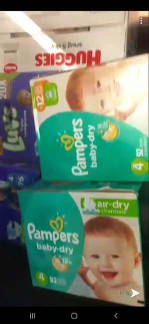 All kinds of diapers and wipes for Sale in San Bernardino, CA