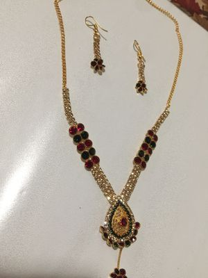 3 piece Indian jewelry set for Sale in Sacramento, CA