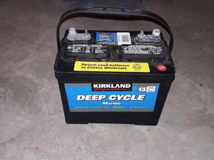 Kirkland deep cycle battery for Sale in Anchorage, AK