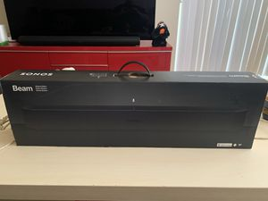 Sonos Beam with Voice Control built-in Shadow Edition brand new for Sale in Orlando, FL