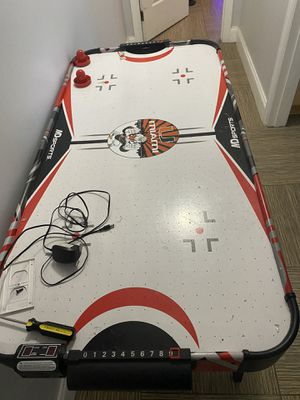 Kids air hockey table . Used but works perfectly 150.00 ObO for Sale in Miami, FL