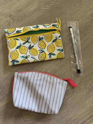 Travel Size Makeup Bags (2) for Sale in Los Angeles, CA