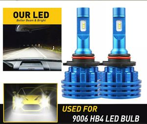9006 HB4 LED Bulbs with canbus 6000K 120W White Super bright for Sale in Fontana, CA