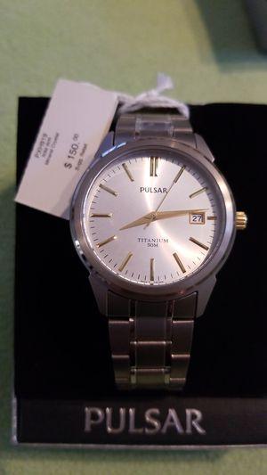 Pulsar men titanium watch for Sale in Tampa, FL