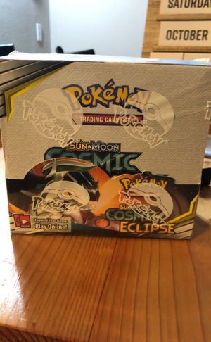 Pokémon cards sun&moon cosmic eclipse for Sale in Auburn, WA