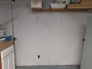 3 - 4x8 sheets peg board for Sale in Fridley, MN