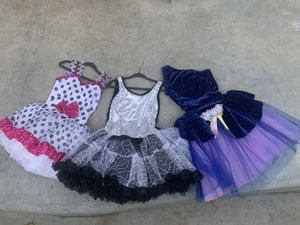 Toddler Dresses, Pretend Play, Princess costumes, ages 3 through 6 for Sale in Lakewood, CA
