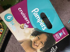 Pampers size 6 for Sale in Clovis, CA