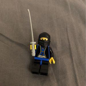Lego Ninja Minifigure With Sword for Sale in Weston, FL