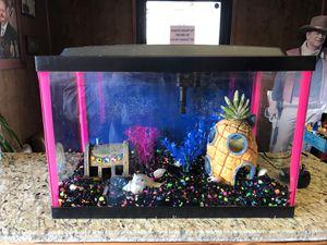 Sponge Bob fish tank for Sale in Bakersfield, CA