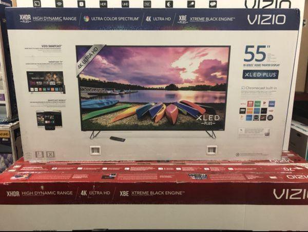 "55"" VIZIO M55-E0 4K UHD HDR XLED SMART TV 120HZ 2160P (FREE DELIVERY)"