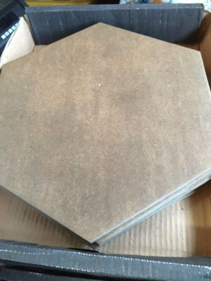 Brown tile look at the pictures for description I have 18 boxes for Sale in Menifee, CA