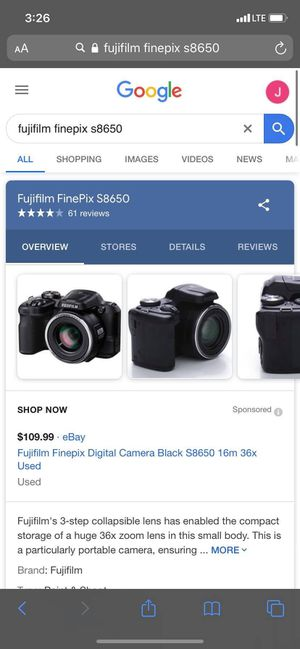 (CAMERA) FujiFilm FinePix S8650 for Sale in Chicago, IL