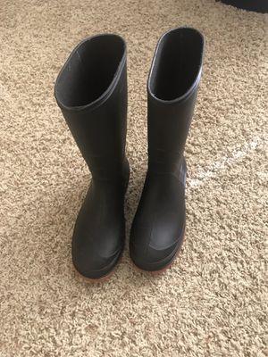 Rain boots size 5 for Sale in West Jordan, UT