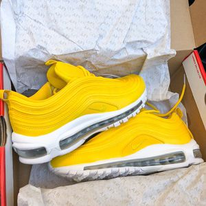 """Nike Air Max 97 """"Amarillo/Mettalic"""" Men's Shoes(size8) for Sale in Cleveland, TN"""