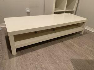 IKEA LACK TV Stand - White for Sale in La Mirada, CA