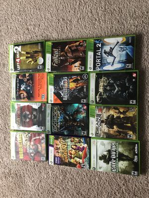 12 Xbox 360 games for Sale in Woodinville, WA