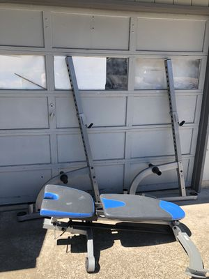 Bench Press With Easy Curl for Sale in Oregon City, OR