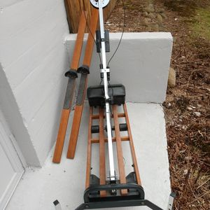 Free NordicTrack Ski Exercise Machine Missing Electronics But Works Excellent for Sale in Wallingford, CT