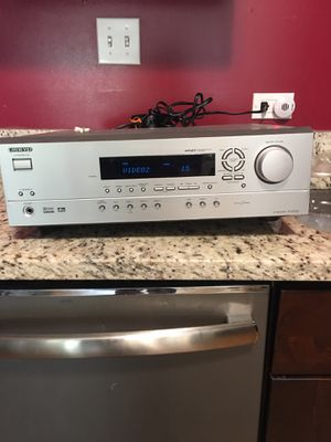 Home theater DR 1000 and radio shack FM amplifier for Sale in Lansing, IL