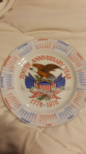 Bicentennial decorative plate for Sale in La Mesa, CA