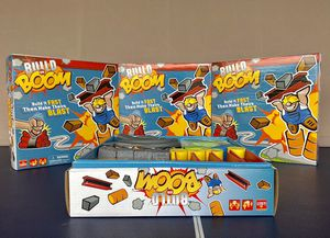 BRAND NEW Goliath Build or Boom Game - Family Fun Building Game for Sale in Pooler, GA