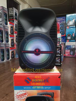 Bocina Nueva En Caja Bluetooth Speaker 🎉🎵🎤💥 SPECIAL ! LED Lights Rechargeable 🔋 +++ New in Box for Sale in Los Angeles, CA