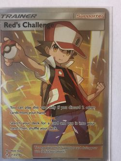 Red's Challenge FA Trainer Pokémon TCG for Sale in Los Angeles,  CA