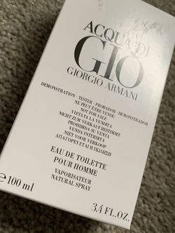 Acqua Do Gio By Giorgio Armani 3.4 fl oz for Sale in Snohomish,  WA