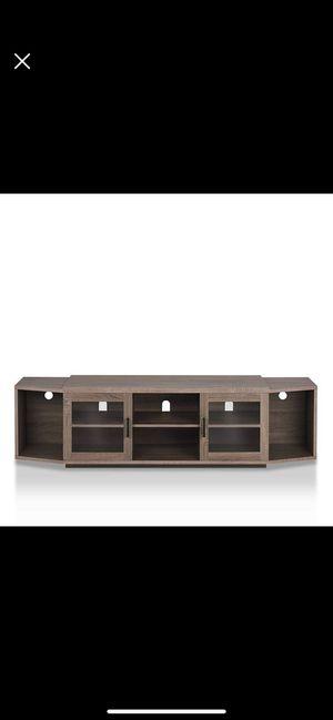 Furniture of America Henel Multi-storage TV Stand Walnut Walnut Finish for Sale in Seattle, WA