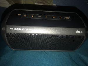 LG portable bluetooth speaker for Sale in San Antonio, TX