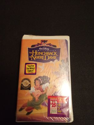 The hunchback of Notre dame vhs sealed for Sale in Chicago, IL