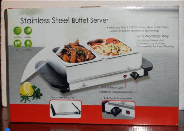 Electra Stainless Steel Buffet Server