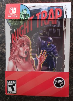 Night Trap Switch Collectors Edition for Sale in Harrisonburg, VA