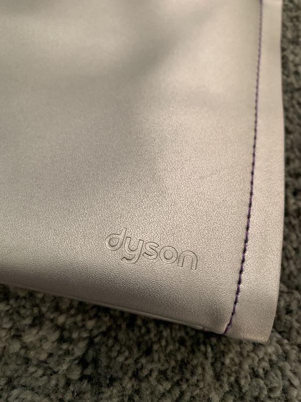 Dyson storage bag silver color