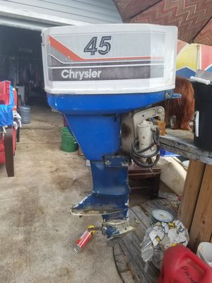 1979 Chysler 45 Hp Outboard for Sale in San Antonio, TX