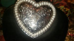 BEAUTIFUL STERLING SILVER BUCKLE for Sale in West Valley City, UT