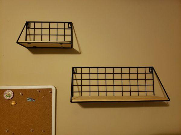 "Wall Floating Shelf Set (3 Shelves, Width: 9"" / 13"" /16.5"")"