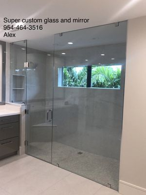 Frameless shower door for Sale in Port St. Lucie, FL