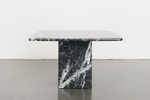 BLACK MARBLE SIDE TABLE for Sale in Seattle, WA
