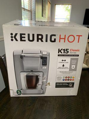 Keurig Classic K15. Never used. Brand new for Sale in Davie, FL