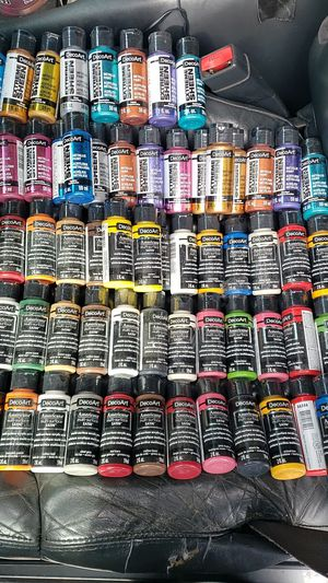 79 deco art acrylic paints for Sale in Oregon City, OR