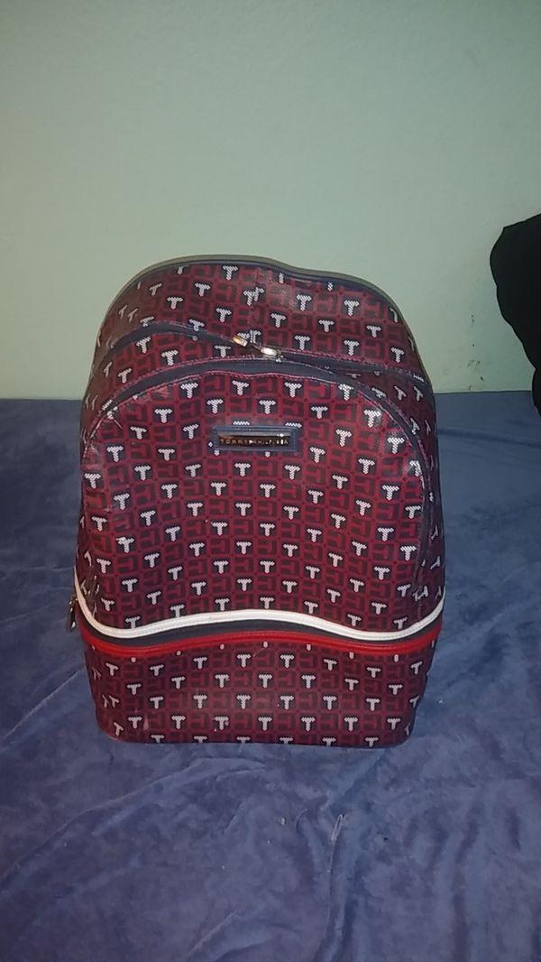 Tommy Hilfiger backpack leather
