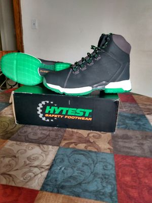 Brand New Hytest Safety work boots Size 12 for Sale in Detroit, MI