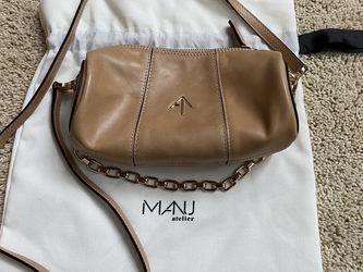 MANU ATELIER Cylinder mini leather shoulder bag for Sale in Redmond,  WA