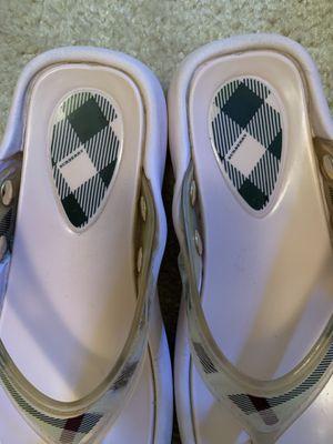 Burberry flip flops for Sale in Rockville, MD