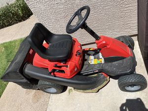 Craftsman Riding Lawn Mower + Bag - barely used for Sale in Gilbert, AZ