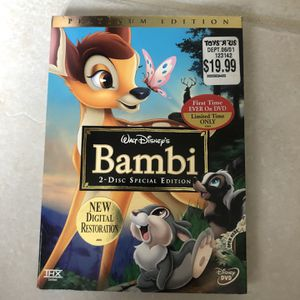 Bambi DVD for Sale in Lake Worth, FL