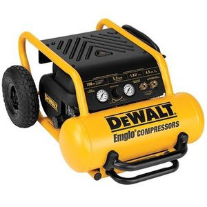 USED***DeWALT D55146 Heavy-Duty 4.5 Gallon, 200 PSI, Heavy Duty Hand Carry Air Compressor w/ Wheels***** for Sale in Seattle, WA